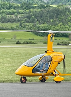 Formation de pilote d'autogire Gap Tallard (05) Alpes du Sud