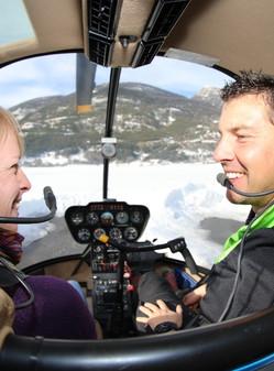 Vol hélicoptère panoramique 30 min (1 à 5 pers) Vallée de Briançon - (St Crépin 05)