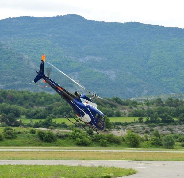 Vol hélicoptère exclusif (5 à 6 pers) Gap ou St Crépin (05)