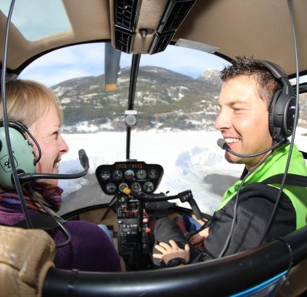 Vol hélicoptère découverte (2-3 personnes) Briançon (05)