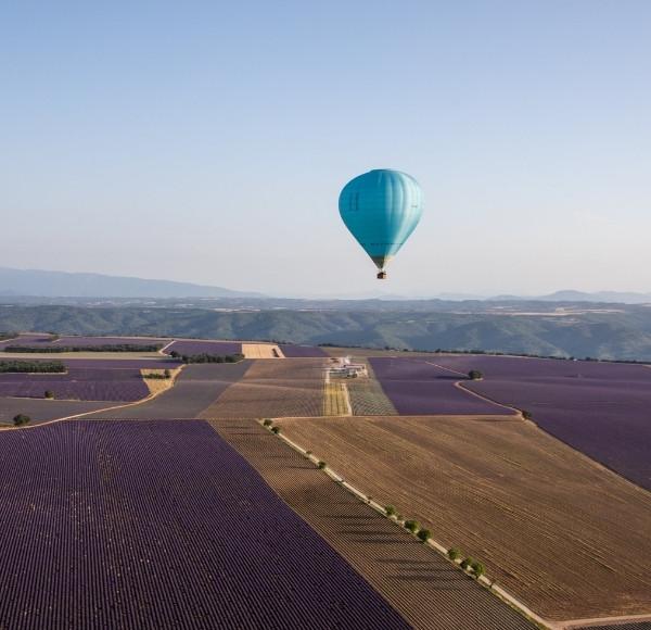 Vol montgolfière découverte Moustiers Sainte Marie (04)