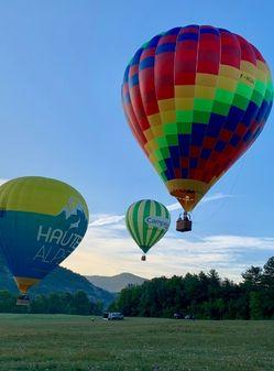 Vol montgolfière exclusif