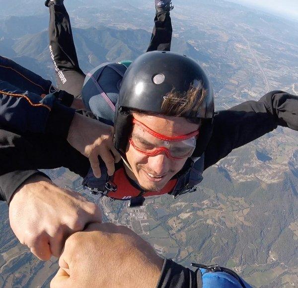 saut en parachute duree