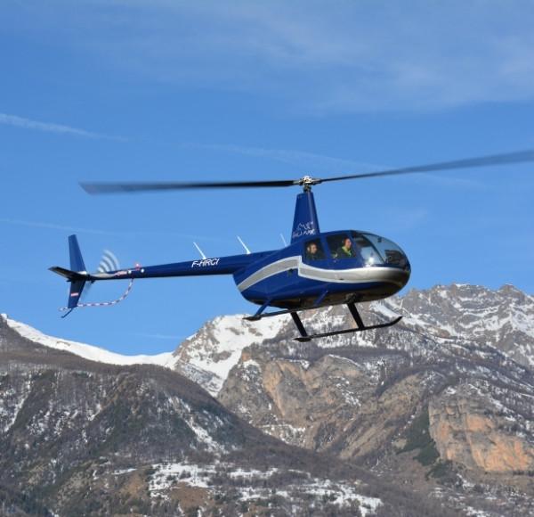 Vol hélicoptère panormaique 20 min (1 à 5 pers) Vallée de Briançon - (St Crépin 05)