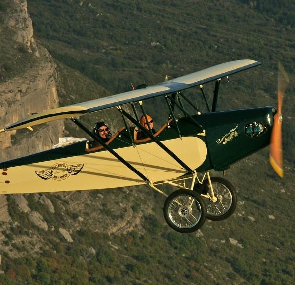 Vol Avion Vintage
