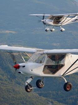 Vol Duo en Avion Ultra-Léger Gap-Tallard (05) Alpes du Sud