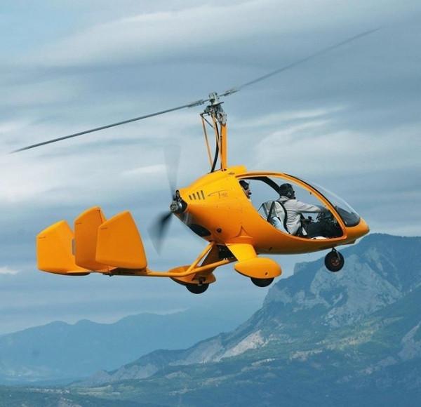 Vol autogire promenade Gap et Alpes du sud