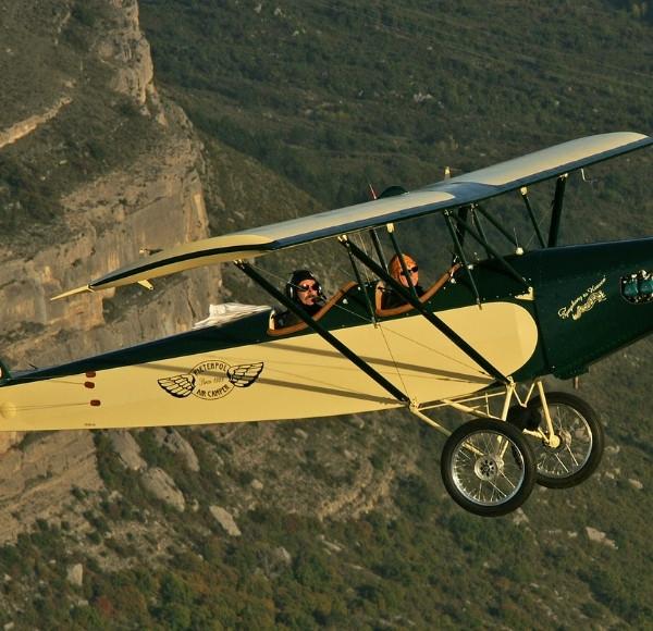 Vol en avion Vintage Sisteron (04)