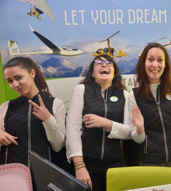 L'équipe Fly Dream